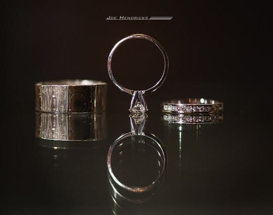 Nashville Garden Wedding Rings, CJ's Off the Square