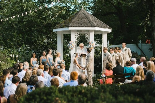 Wedding Ceremony at CJ's Off the Square, Ulmer Studios