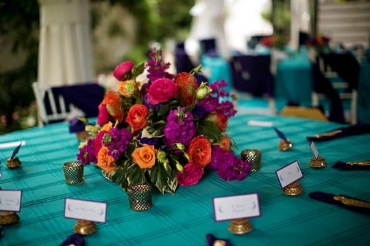Enchanted Florist, Colorful Indian Wedding at CJs (13)