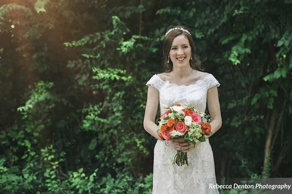 CJs Off the Square, Coral + Navy garden wedding, Rebecca Denton Photography-064