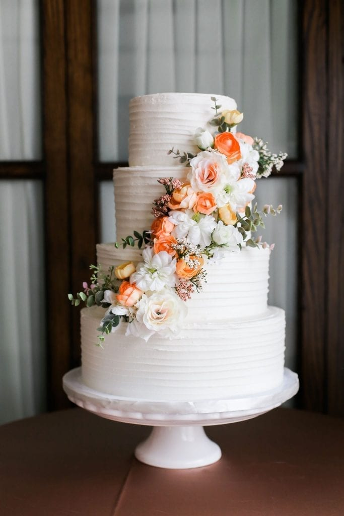 stucco wedding cake Nashville