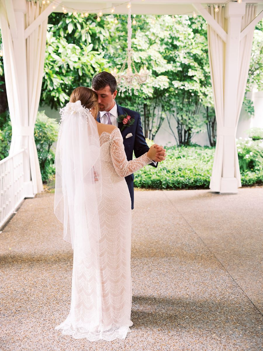 Bride and groom having their private first dance / Elopement / Summer / August