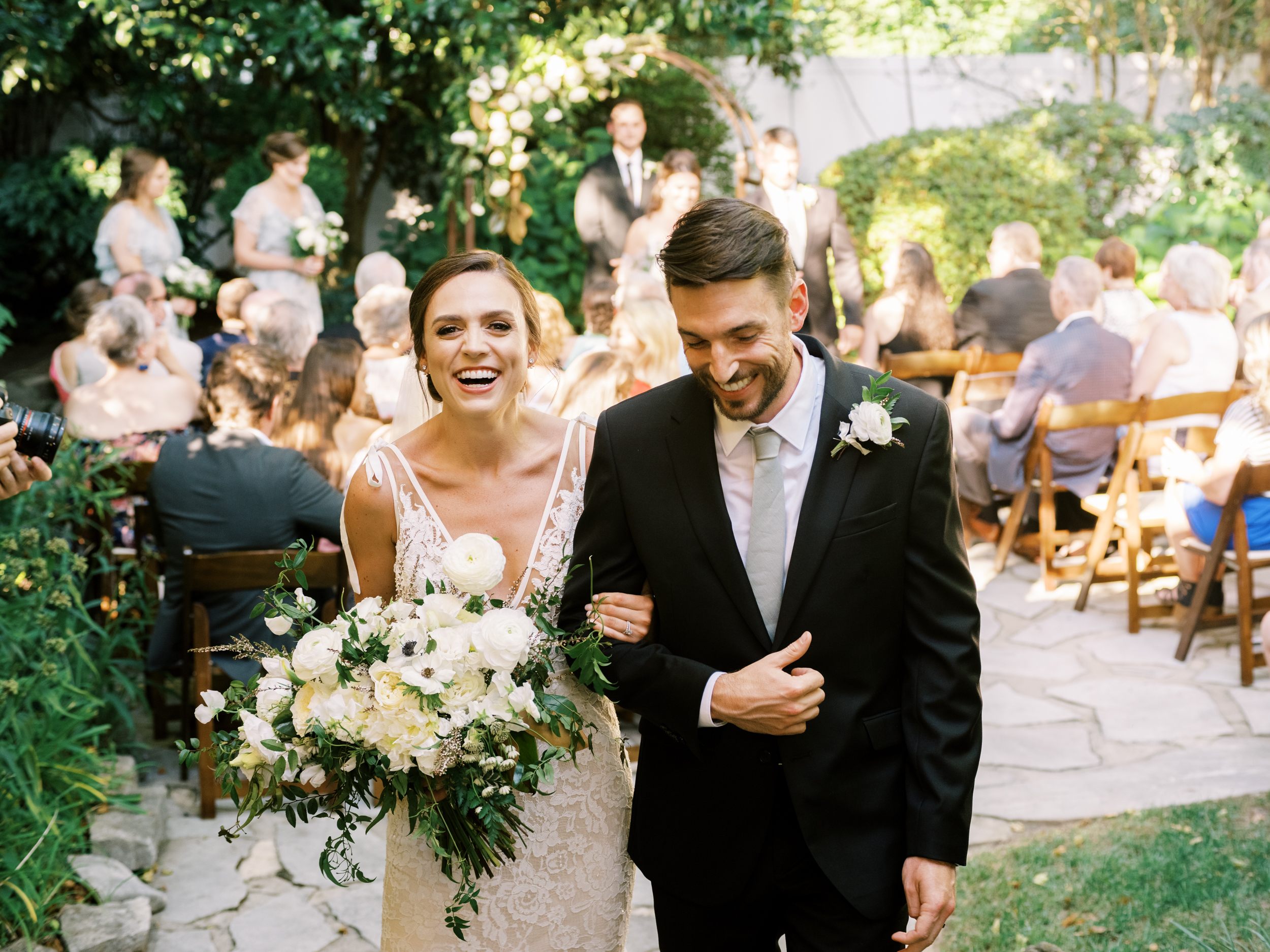Catey + Paul: An Intimate, Floral-Inspired Affair
